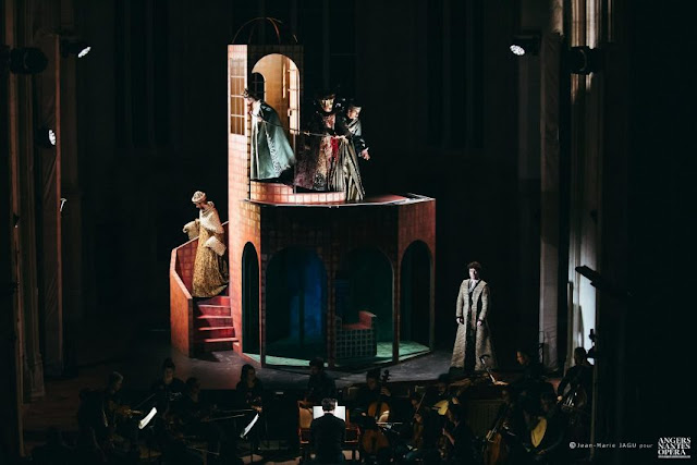 Stradella: San Giovanni Battista - Le Banquet Céleste, Angers Nantes Opéra - (Photo Jean-Marie Jagu – Angers Nantes Opéra)
