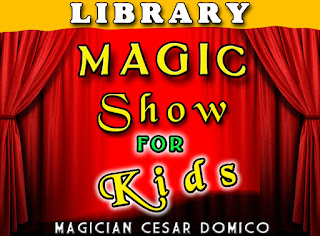 Lake Panasoffkee Library Magic Show