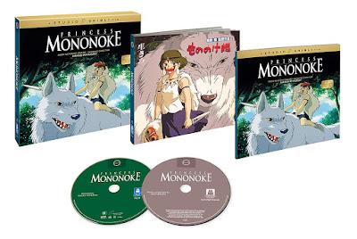 Princess Mononoke 1997 Blu Ray Collectors Edition Box Set