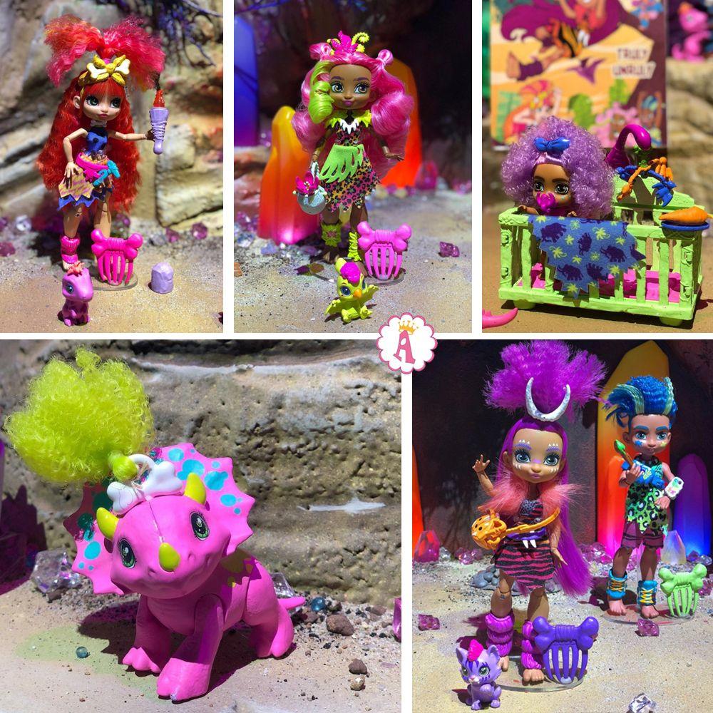 Cave Club dolls новые игрушки 2020 года куклы Mattel