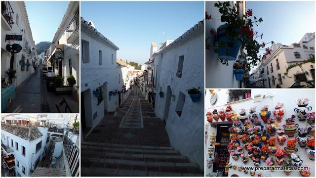Pueblos blancos de Andalucía, Mijas en Costa del Sol Málaga