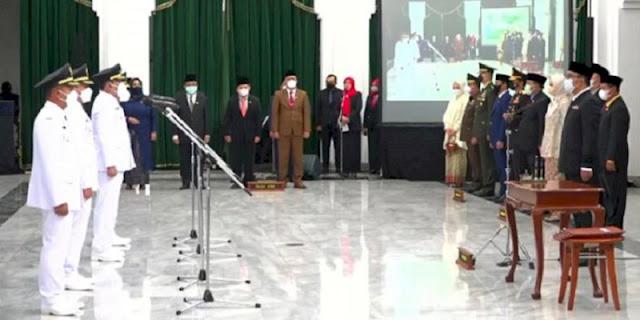 Sahrul Gunawan Resmi Jadi Wabup Bandung, Ridwan Kamil Wanti-wanti Soal Integritas