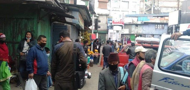 Plan to seal Chowk Bazar in Darjeeling
