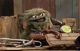 Oscar the Grouch sings I Love Trash. Sesame Street Best of Friends