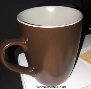 Tomar un cafe antes de correr