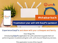 Troubleshoot your unifi with EasyFix!