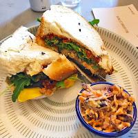 Pinkmoon vegan sandwich
