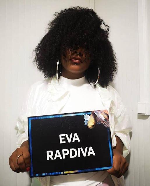 Eva Rap Diva a única angolana nomeada nos Afrimma