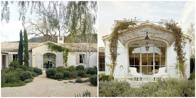 Exterior Swedish antiques in modern farmhouse neutral European antique style Patina Farm Giannetti Home