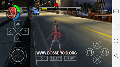 PPSSPP GAMES SPIDERMAN ISO
