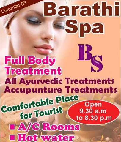 Barathi Spa | Massage center in Bambalapitiya, Colombo