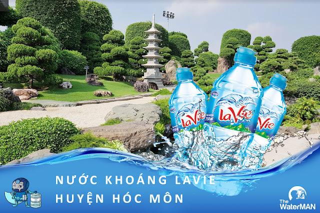 Đại lý đặt nước khoáng Lavie, Viva bình 20L, thùng đóng chai ở huyện Hóc Môn