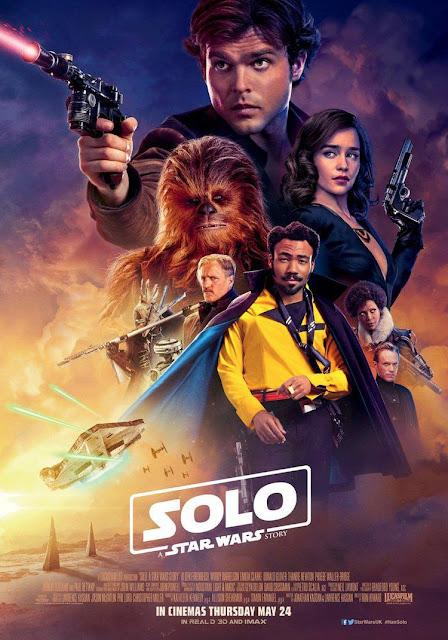 Póster película Han Solo Una historia de Star Wars