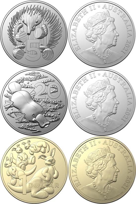 Australia 2021 Baby Coins