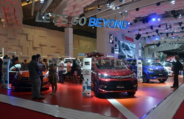 Best Booth Toyota IIMS 2016