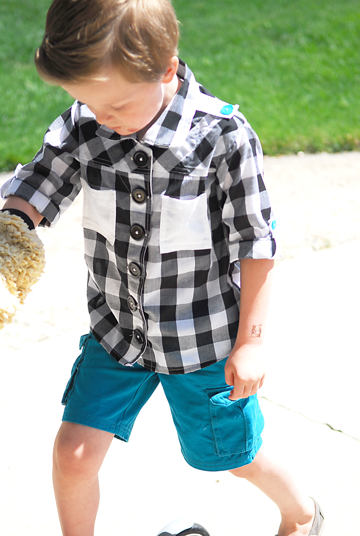 The Checkered Maxwell Boys Summer Collection Shwin And