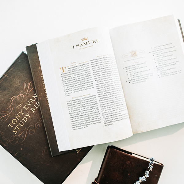 Tony Evans Study Bible #giveaway #ad