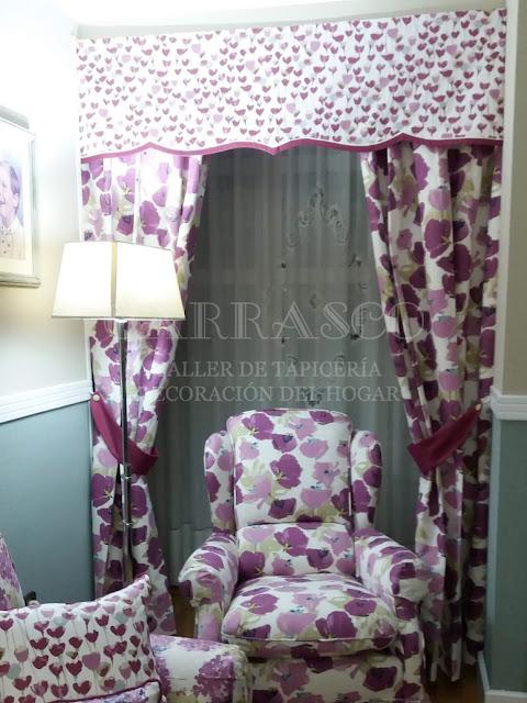 Decoración textil en Tapicería Carrasco Asturias
