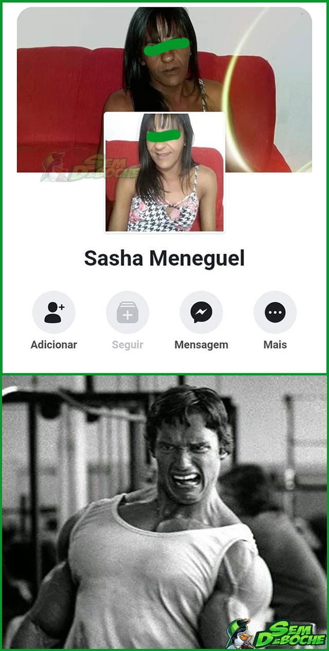 A SASHA TÁ BEM DIFERENTE