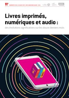 Baromètre sur les usages des livres numériques et audio 2021