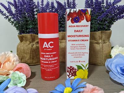 Australian Cosmetics - AC Sydney  Aqua Recovery Daily Moisturising Vitamin E Cream