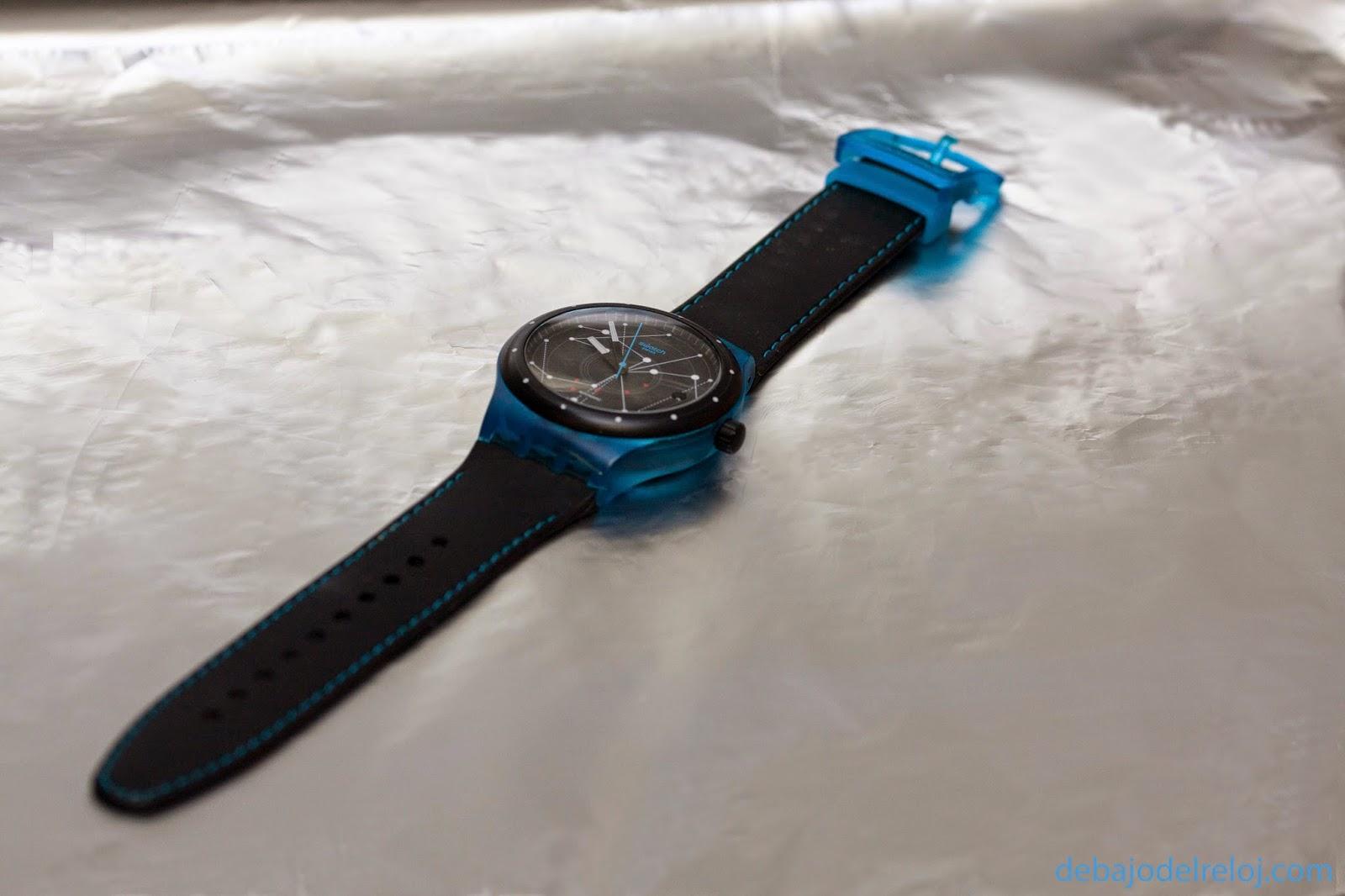 Uno de mis relojes: Swatch Sistem51 debajodelreloj