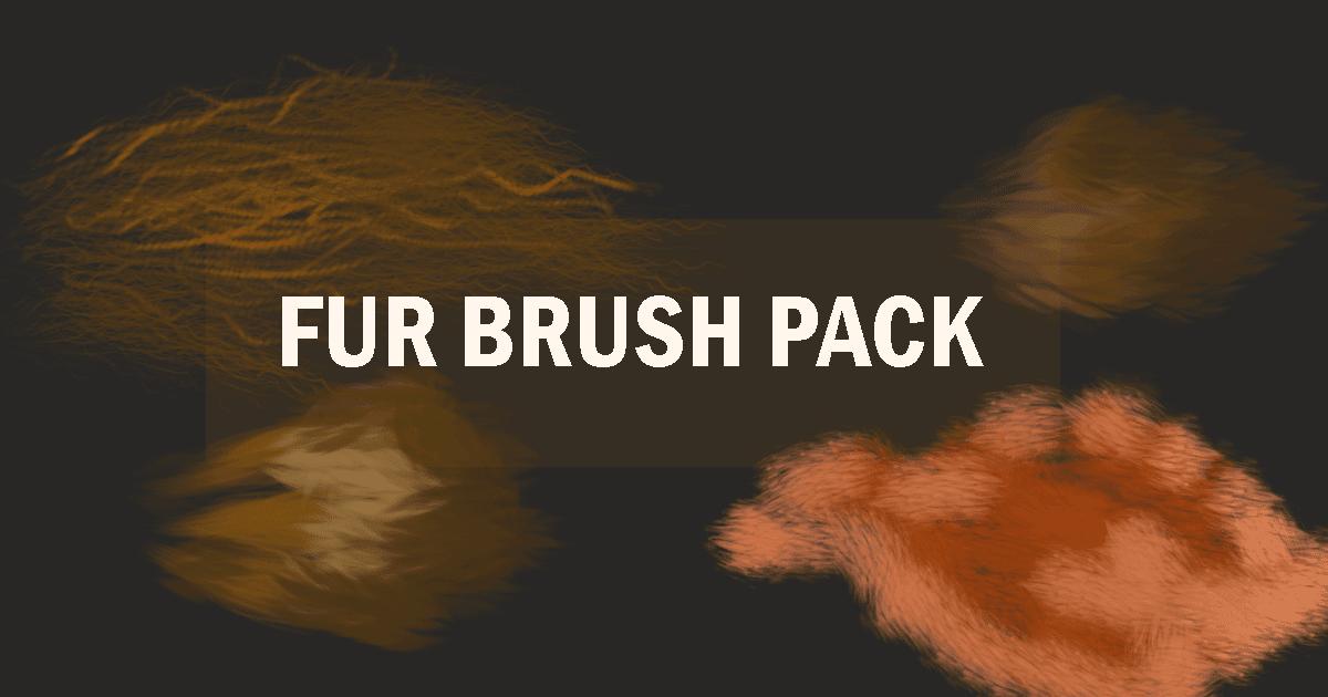فرش fur brush pack