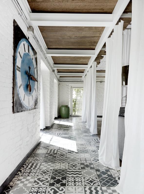 cortinas como separadores de espacios
