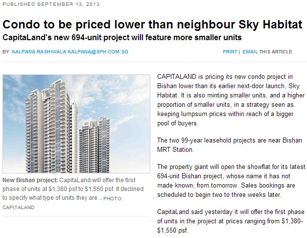 Sky Vue Bishan - News Article