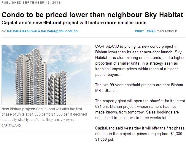 Sky Vue Bishan - News Article