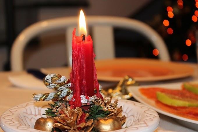 Cómo preparar una mesa de Navidad