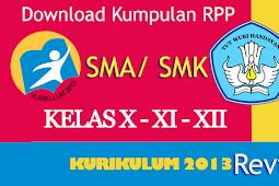 Download gratis kumpulan RPP SMA dan SMK lengkap