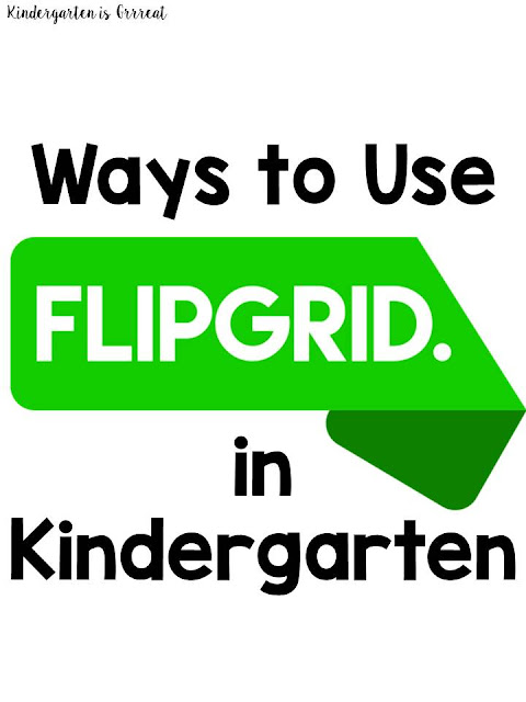 I have found a new technology tool that I love for my classroom.  Flipgrid is a digital video message board that you can use with other teachers, your students, or globally.  Check out these ideas for how to use flipgrid in your kindergarten or elementary classroom!  I will definitely be doing 1-3!