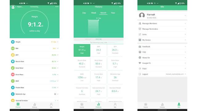 FitTrack Dara Smart Body BMI Scale Review