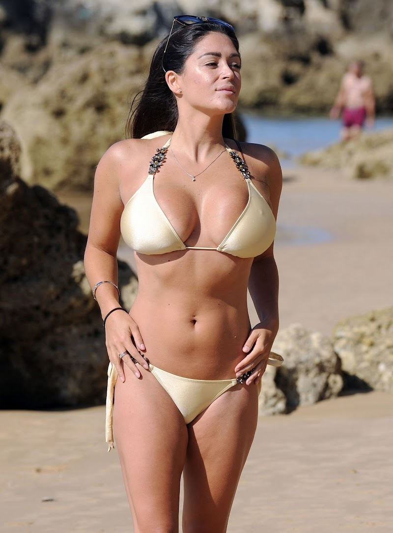 Casey Batchelor  in Bikini – Enjoying a Holiday in Spain 9 Sep -2017