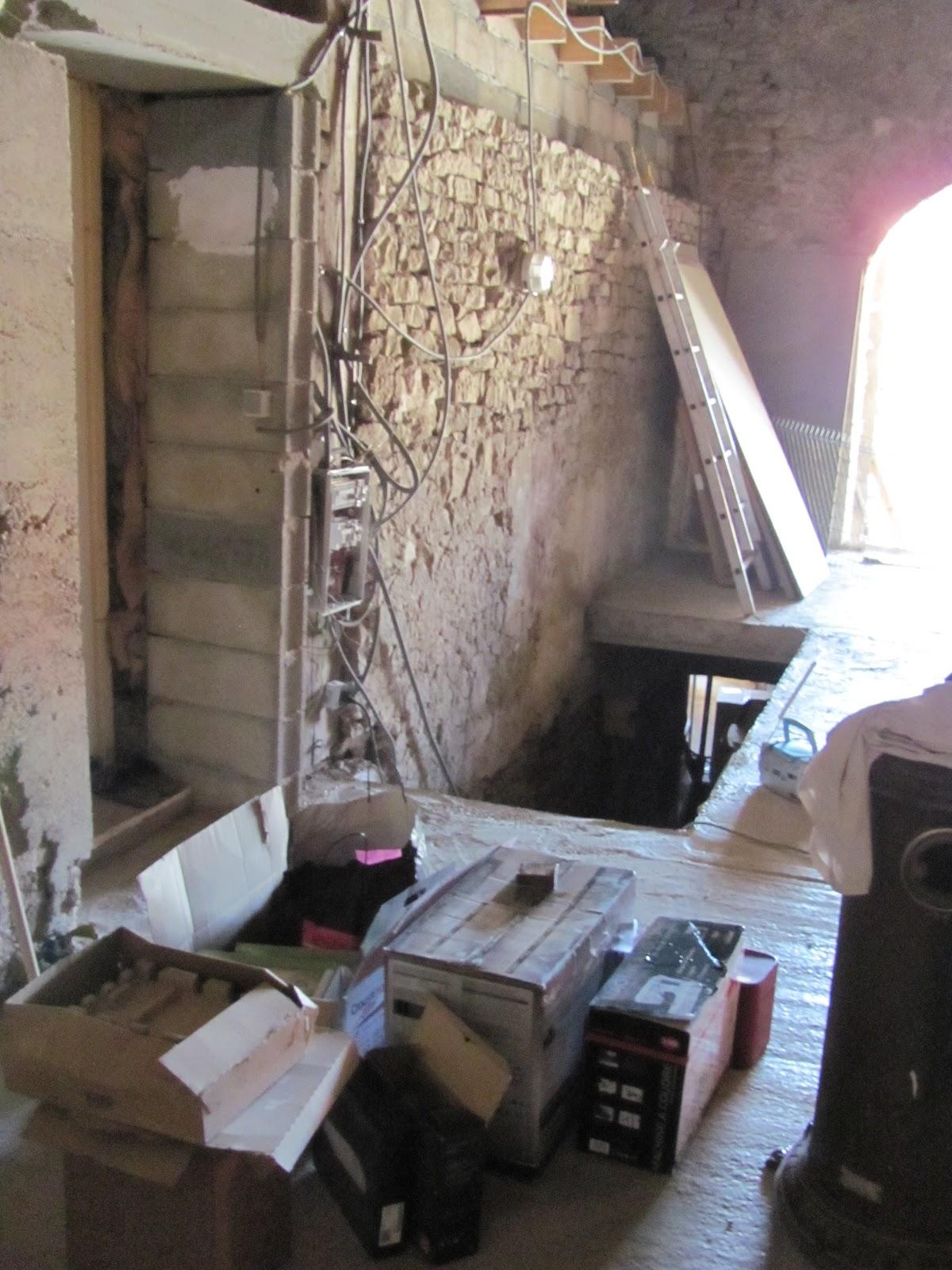 Creation D Une Tremie Escalier maçonnerie: rénovation d'une ferme. création d'une trémie d