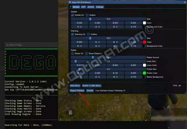تحميل برنامج vanhax على الكمبيوتر أو Dego لتهكير ببجي موبايل