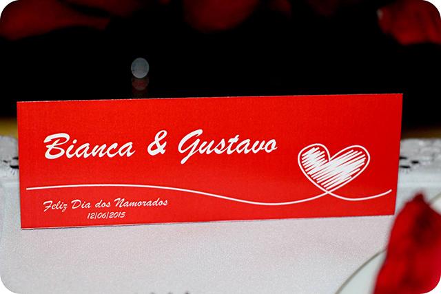 Plaquinas : Decoração do Jantar Dia dos Namorados
