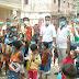 74 वें स्वतंत्रता दिवस के शुभ अवसर पर गीता सुख फाउंडेशन द्वारा बच्चों को पठन-पाठन सामग्री और मिठाई खिलाकर के मनाया जा रहा है