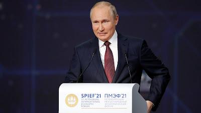 Putin – Verlegung von Nord Stream 2 fertig