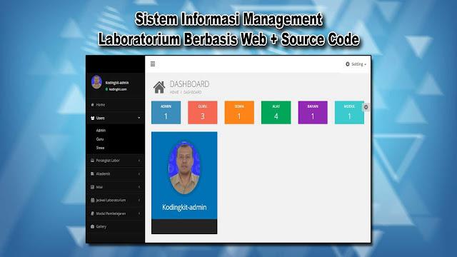 Download Source Code Management Laboratorium Berbasis Web Gratis
