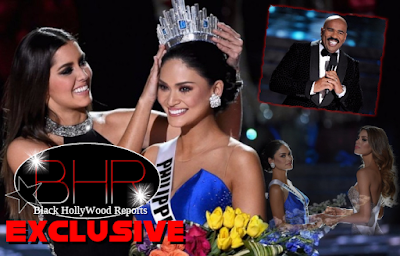 "Steve Harvey Invites Miss.Colombia And Miss.Universe To The ""Steve Harvey Show"" For An Apology"