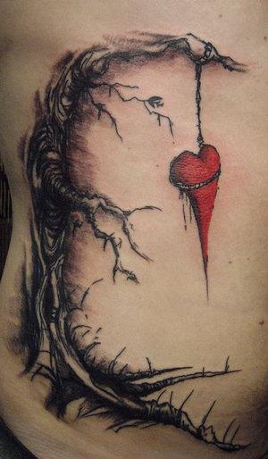 Naked Lady Tattoo