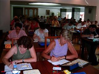 Festival International de Scrabble Francophone Roumanie Poiana Brasov 2004 - Sala Piatra Mare