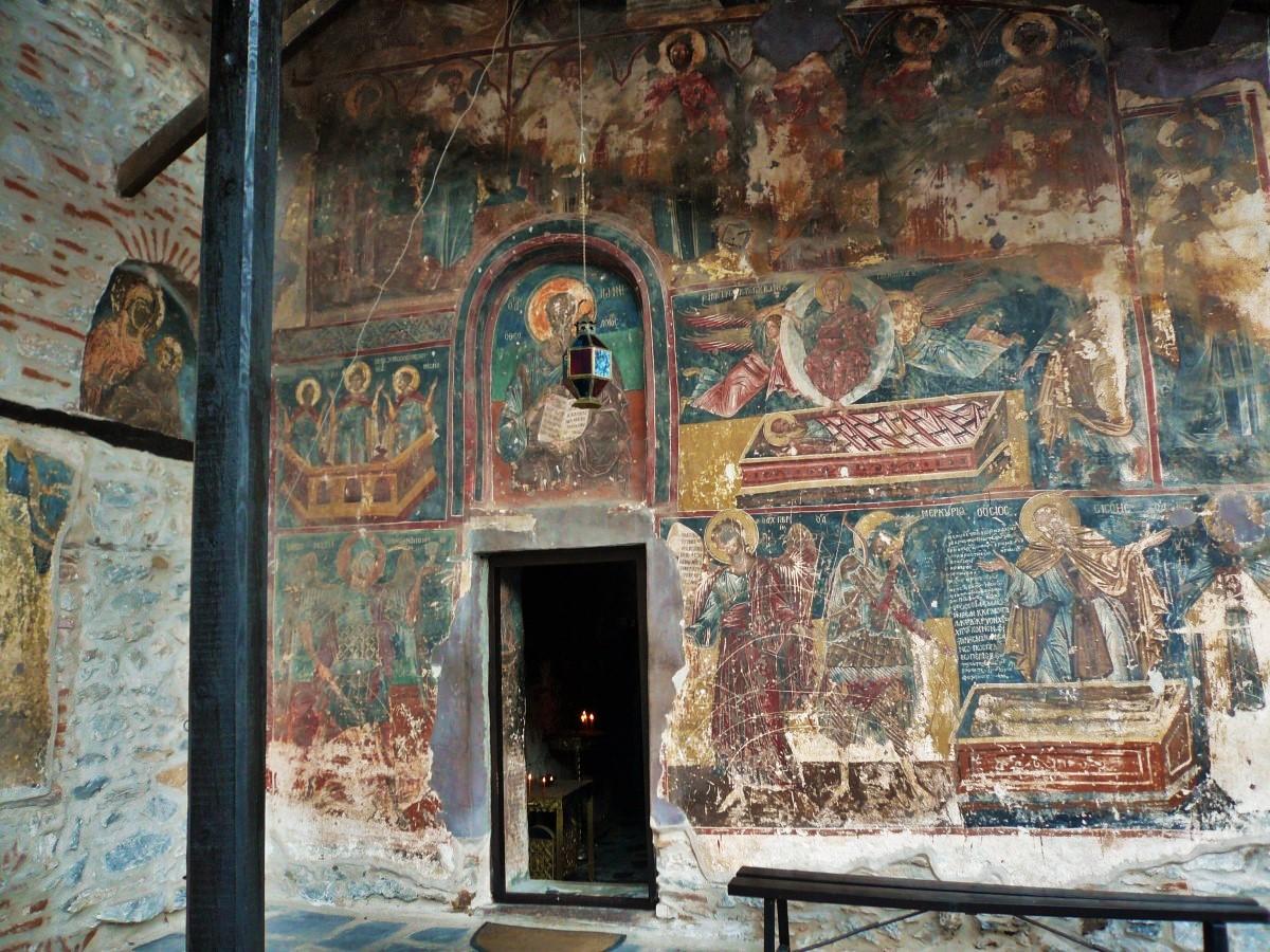 Greek Orthodox Religious Tourism: Ιερά Μονή Παναγίας Μαυριώτισσας Καστοριάς.