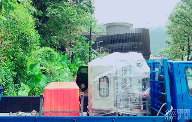 水利署緊急淨水設備Qwater預佈烏來