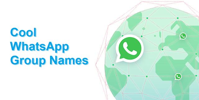 60+ Cool WhatsApp Group Names