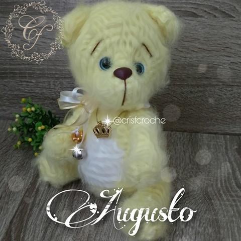 Receita Urso Amigurumi (Crochê) - YouTube | 480x480