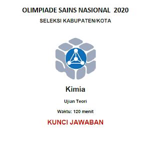 Soal dan Pembahasan KSN Kimia tingkat Kabupaten/Kota tahun 2020 (KSK)