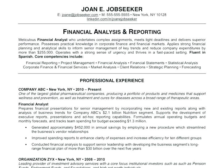 Samples Of Great Resumes Examples A Good Resume